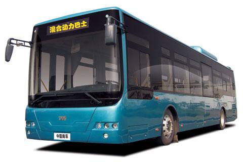 南车时代TEG6129PHEV
