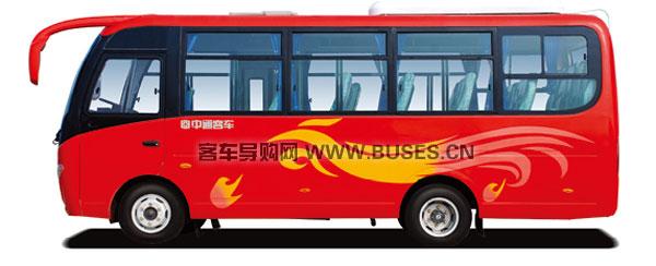 中通LCK6601D4E客车(柴油国四10-19座)侧面