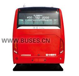 中通LCK6601D4E客车(柴油国四10-19座)尾部