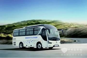 亚星蓝钻系列客车即将出口日本