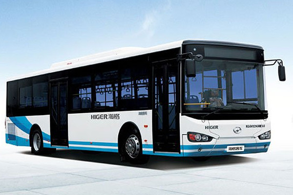 海格KLQ6129GAHEVE5E公交车(柴油混合动力国五24-42座)