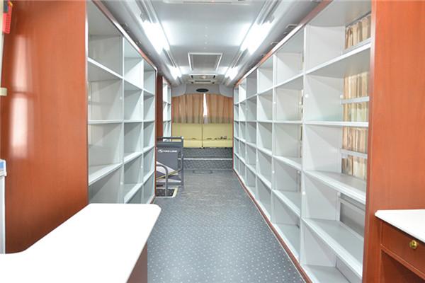金龙XMQ5180XTS图书馆车