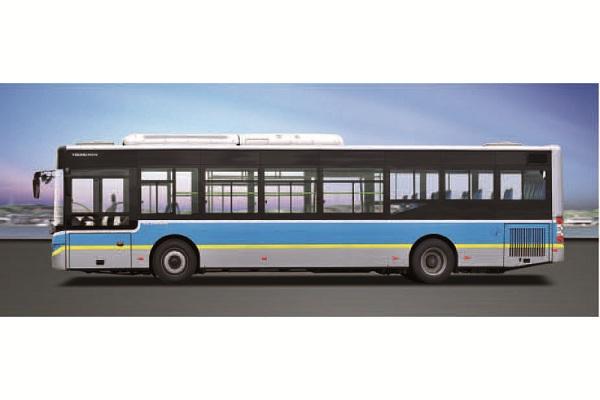 青年JNP6100GVC公交车(天然气国五10-40座)