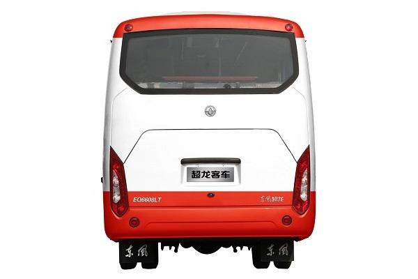 东风超龙EQ6608LTV1客车(柴油国五10-19座)