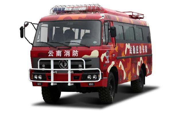 东风超龙EQ6672CT消防车(柴油国四10-19座)