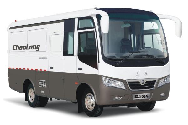 东风超龙EQ5046XXYTV厢式运输车(柴油国五2-6座)