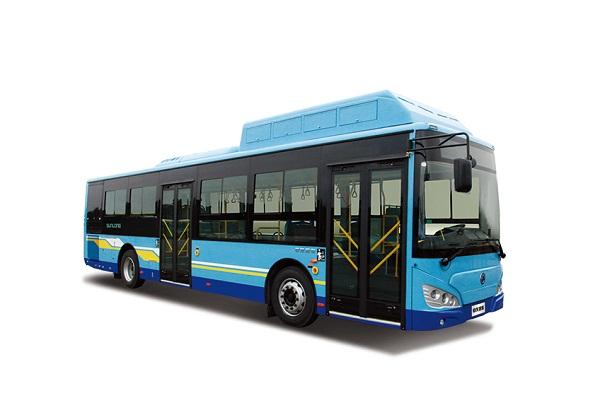 申龙SLK6119ULN5HEVZ1公交车(天然气混合动力国五10-44座)