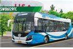 申沃SWB6129FC2公交车(燃料电池23-32座)