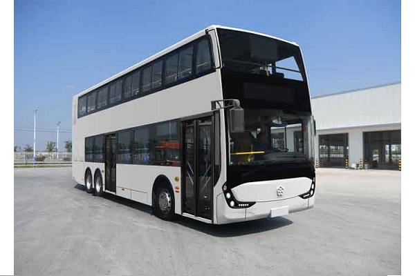 银隆GTQ6131BEVST3双层公交车(纯电动15-71座)