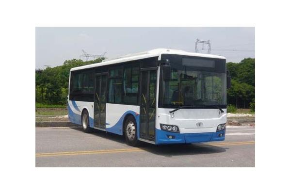 上海万象SXC6910GHEV1公交车(柴油混合动力国五10-38座)