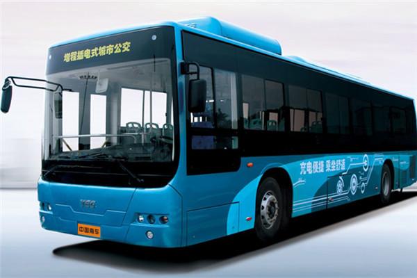 中车时代电动TEG6129EHEVN05公交车(天然气混动国五24-43座)