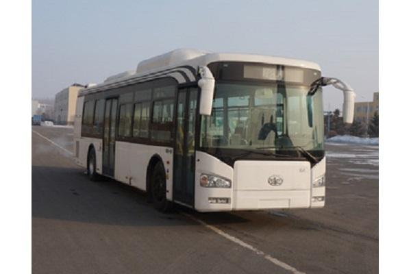 一汽CA6123URHEV21公交车(天然气/电混合动力国五24-31座)