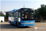 """借""""丝路东风""""唱响中国品牌,70台安凯天然气公交车驶向哈"""