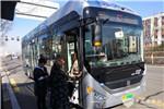 """中通客车助力""""氢都""""建设 山西大同迎来首辆氢燃料公交车"""