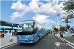 金龙客车再担使命,绿色护航数字中国建设峰会通勤服务