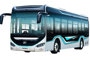 海格蔚蓝A10公交车