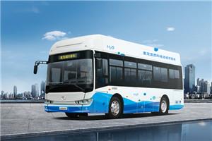 金龙氢燃料公交车