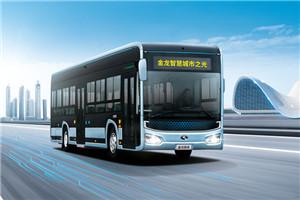 金龙智慧城市之光公交车