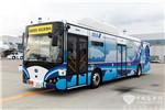 全球首款机场用自动驾驶纯电动大巴东京实地测试