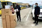 """同舟共济 齐心战""""疫"""" 苏州金龙联合爱普捐赠10万只口罩及1000套防护服"""