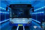 上海市浦东公交新添LED紫外线杀菌消毒 60秒完成车厢消杀!
