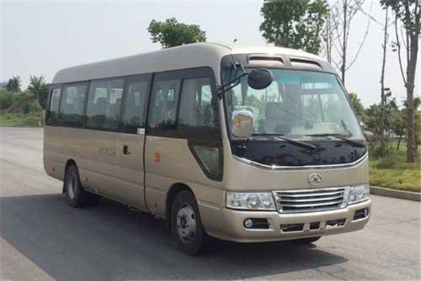 晶马JMV6708CF客车(柴油国五10-23座)