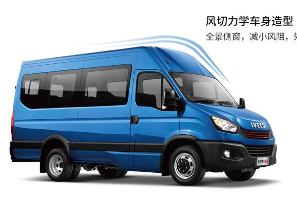南京依维柯NJ6576EC2客车(柴油国六10-14座)