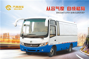 齐鲁BWC5041厢式运输车