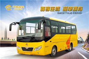 齐鲁BWC6771客车