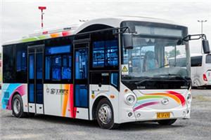 海格KLQ6762公交车