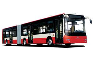 金旅XML6185铰接公交车