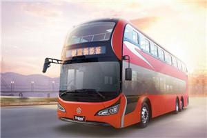 银隆脸谱GTQ6131双层公交车