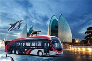 银隆海豚GTQ6186公交车