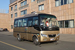东风超龙EQ6608LTV客车(柴油国五10-19座)