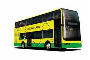 金旅双层公交车