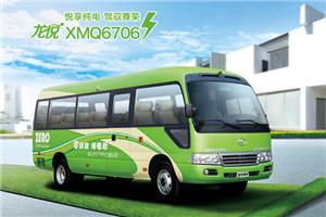 金龙龙悦XMQ6706客车