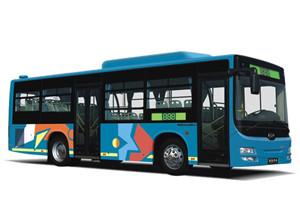 黄海DD6930公交车
