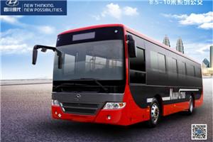 四川现代8.5-10米公交车