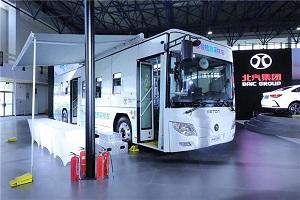 核酸检测采样车、氢燃料客车…这场博览会欧辉明星产品再吸睛