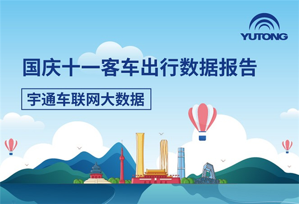 旅游强势反弹!宇通发布国庆十一客车出行大数据报告