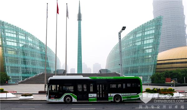 累计运营超500万公里! 郑州223辆宇通氢燃料公交车彰显示范效应