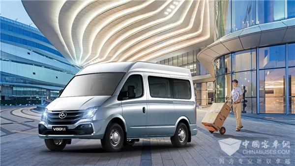12.98万元起售 新增九座商旅版 2021款上汽大通MAXUS V80 PLUS上市!