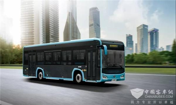 """加速公交体验优化升级 金龙""""地铁巴士""""入驻浙江金华"""