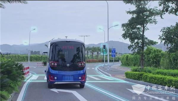 自动驾驶商业化再迎利好 金旅客车勇当领跑者