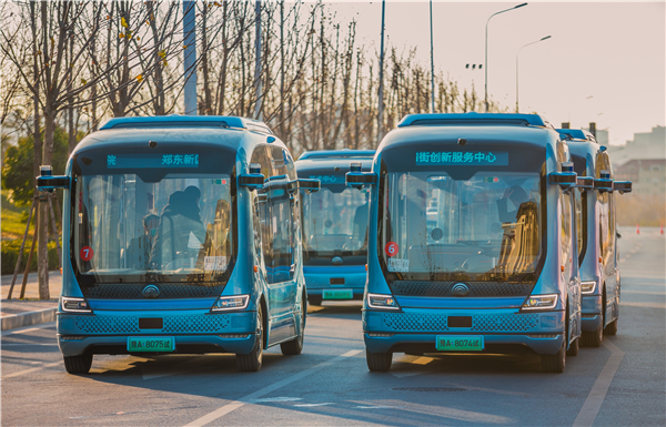 迎接智慧交通新时代 宇通自动驾驶巴士即将在郑州批量投放
