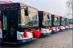 """福田欧辉60台纯电动客车进驻""""中国药都"""" 助力城市公交绿色出行"""