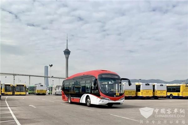 打造珠澳深度合作范例 银隆增程式巴士入驻澳门