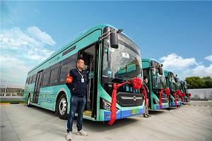 持续引领氢燃料电池客车示范应用 中通客车助力江苏无锡迈进公交氢时代