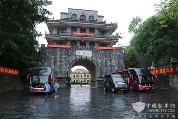 红色之旅圆满收官! 苏州金龙海格客车带你沿着高速看中国