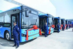 江苏南京首条氢能公交示范线开通,谁家车?